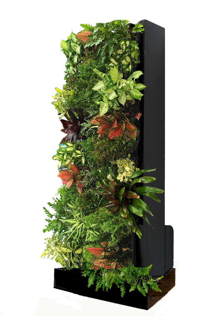 Single portable vertical garden